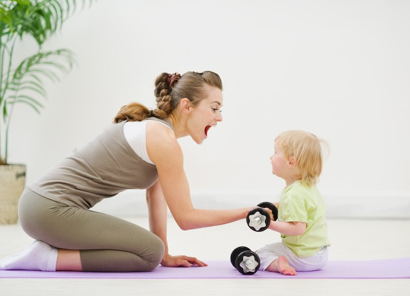 how new mothers can maintain fitness
